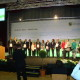 Verleihung der Urkunde und Übergabe der Förderbescheide an insgesamt 18 (Regionen in Sachsen)